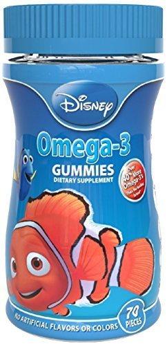 Disney Omega-3 Multivitamins Gummy 70 count