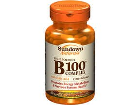 Vitamin B (60 tablets) by Sundown Naturals