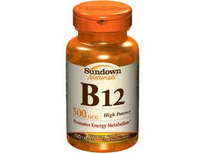 Sundown B-12 500 mcg Tablets 100 Tablets