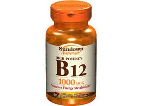 Sundown Vitamin B12 1000 Mcg 60 Tablet