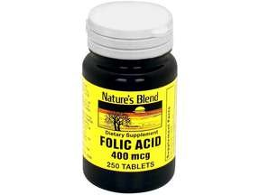 Folic Acid 400 Mcg 250 Tablet By National Vitamins Inc