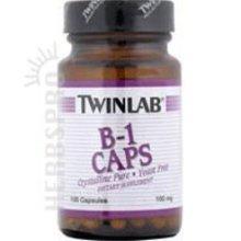 Image 0 of Twinlabs 80380 Vitamins and Minerals B-1 100mg