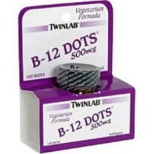 Image 0 of B-12 Dots 500mcg Cherry 100 Dots by Twin Lab