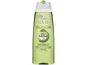 Image 0 of Garnier Fructis Pure Clean Shampoo 13 Oz