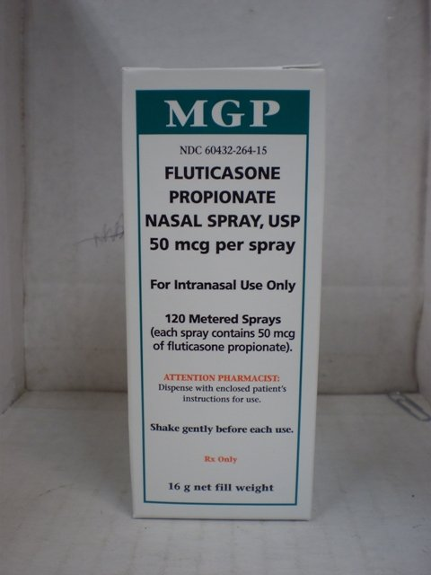 Fluticasone propionate nasal spray side effects : Levodopa
