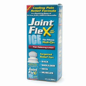 JointFlex Ice No Mess Roll-On Pain Relieving 8.5% Lotion 3oz