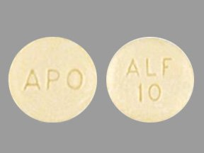 Alfuzosin Hcl 10 Mg Er 100 Tabs By Apotex Corp.