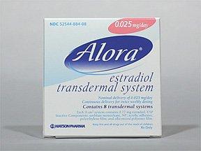 Alora 0.025Mg/24Hr Patch 8 By Actavis Pharma.