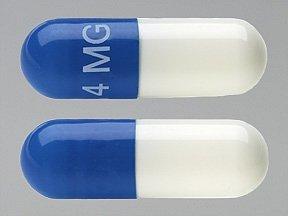 Tizanidine 4 Mg Caps 150 By Actavis Pharma