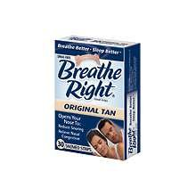Breathe Right Large Clear Nasal Strips 30 Ct.