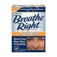 Breathe Right Advanced Clear Strips 26