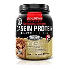 Image 0 of Six Star Casein Protein Prof Strength Powder Triple Chocolate 21.93 oz