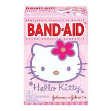 Band-Aid Adhesive Bandages Hello Kitty Assorted 20 Ct.
