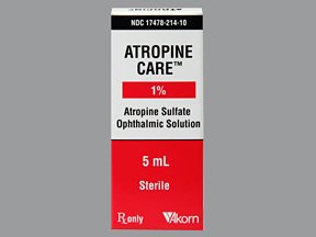 Atropine Care 1% Drop 1X5 Ml Mfg.by:Akorn Opthalmics, USA.