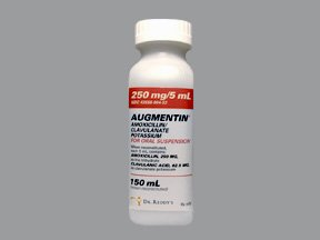 Augmentin 250-62.5Mg/5Ml Powder for Oral Solution 1X150 Ml Mfg.by:Dr Reddys Lab