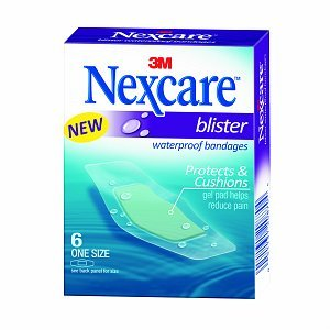 Nexcare Adhesive Bandages Blister Waterproof 6 ct