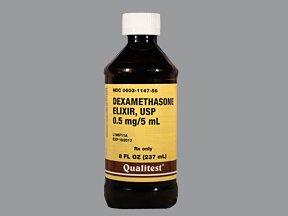 Dexamethasone 0.5Mg/5Ml Elixir 239 Ml By Qualitest Pharma