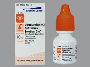 Dorzolamide Hcl 2% Drop 10 Ml By Valeant Pharma