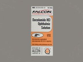 Image 0 of Dorzolamide Hcl 2% Drop 10 Ml By Sandoz Falcon.