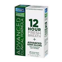 Smartmouth Mouthwash Advanced Mint Clinical 16 Oz