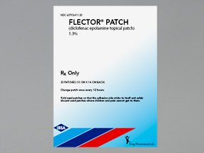 Image 0 of Flector 1.3% Patch 30 By Pfizer Pharma.