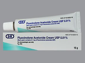 Fluocinolone Acetonide 0.01% Cream 15 Gm By G & W Labs