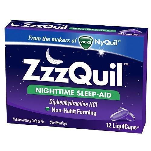Zzzquil Nighttime Sleep-Aid Liquigel 12 Ct