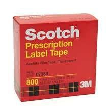 Image 0 of Scotch Prescription Label Tape 2 In x 72 Yd Boxed