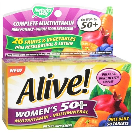 Image 0 of Alive Multivitamin Multimineral Women's 50+ Tablets 50 ct