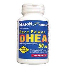 Image 0 of Mason DHEA 50mg Pure Power Capsules 30 ct
