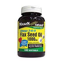 Image 0 of Mason Flax Seed 1000mg Softgels 100 ct