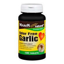Image 0 of Mason Garlic 200mg Odorless Tablets 100 ct