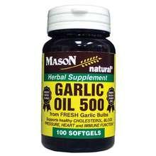 Image 0 of Mason Garlic Oil 500mg Softgels 100 ct