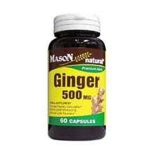 Image 0 of Mason Ginger 500mg Capsules 60 ct