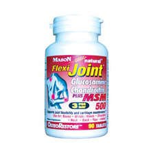 Image 0 of Mason Glucosamine Chondroitin Flexi Joint Plus MSM 500 Tablets 90 ct