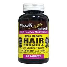 Image 0 of Mason Hair Formula Extra Strength Tablets 60 ct