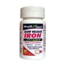Image 0 of Mason Iron 50mg Slow Release Tablets 60 ct