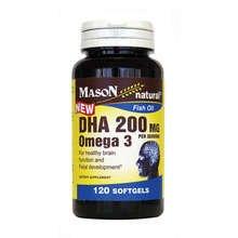 Mason Omega-3 DHA Softgels 120 ct