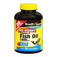 Image 0 of Mason Omega-3 Fish Oil 1000mg Softgels Bonus 160+20 ct