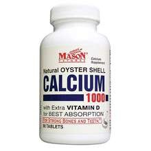 Image 0 of Mason Oyster Shell Calcium 1000mg Tablets 90 ct