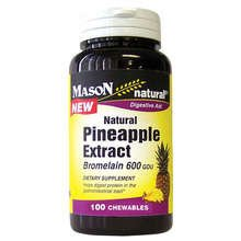 Image 0 of Mason Pineapple Extract Digestive Aid Chewables 100 ct
