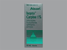 Isopto Carpine 1% Drop 15 Ml By Alcon Labs
