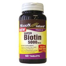 Image 0 of Mason Super Biotin 5000mcg Tablets 60 ct