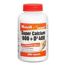Image 0 of Mason Super Calcium 600 w/Iron & Vitamin D Tablets 60 ct