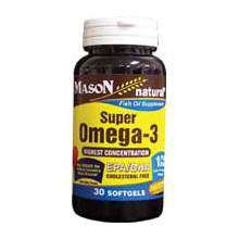 Image 0 of Mason Super Omega-3 Fish Oil 1000mg Softgels 30 ct