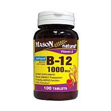 Vitamin B12 1000 Mcg Sub-Ling 100 Lozenges