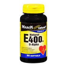 Image 0 of Mason Vitamin E 400IU Softgels 90 ct