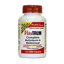 Image 0 of Mason Vitatrum Complete Tablets 130