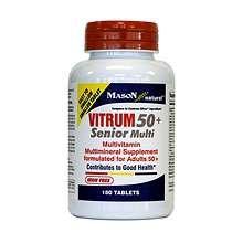 Image 0 of Mason Vitrum Senior 50+ Tablets 180 ct