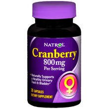 Natrol Cranberry 400mg Capsules 30 ct